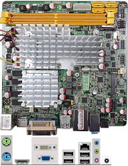 Jetway NC98 ION2 series motherboard